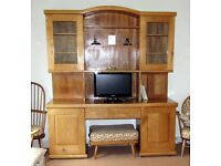 High Quality Solid Elm Dresser Sideboard Ercol style
