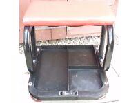CLARKES MECHANICS MOBILE SEAT WITH UNDERTRAY