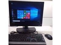 "Lenovo Thinkcentre 20"" M71z i5 QUAD Core PROCESSOR,All in one 2.5Ghz 320GB HDD Webcam Win 10/7"