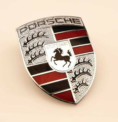 STUTTGART The Home of Porsche Magnetic Fender Badge Emblems SET OF 2