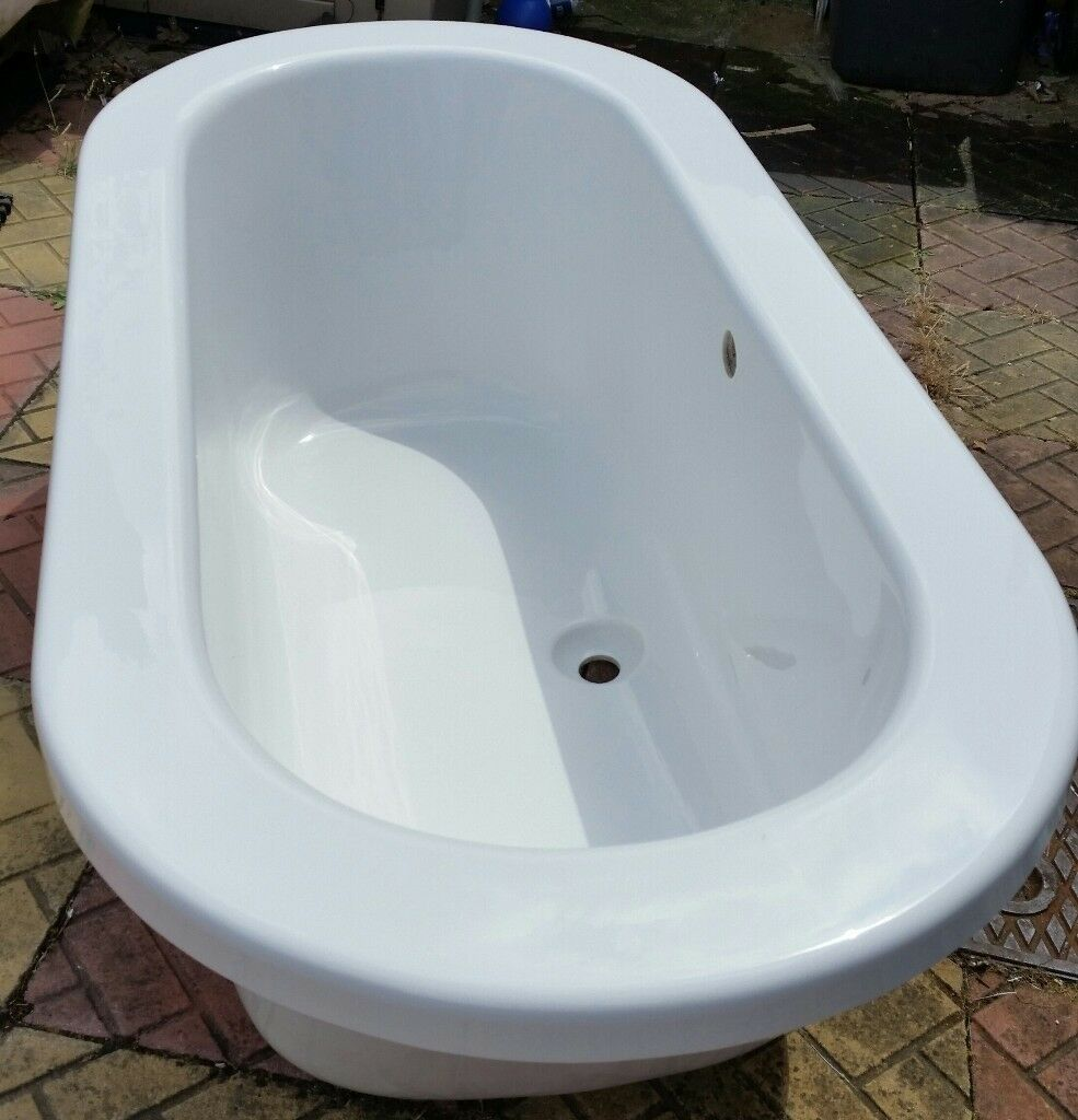 OVAL BATH NEVER FITTED