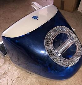 iMac Retro Blue with Pro Keyboard and Mouse