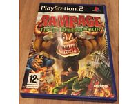 Rampage - Total Destruction PS2 - Good Condition - Video Game