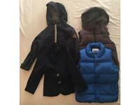 Boys 3-4 year old various jackets x 4
