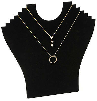 Pendant Necklace Black Velvet 9 Tall Easel Back Collapsible Jewelry Display