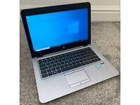"HP ELITEBOOK 820 G3 12.5"" LAPTOP INTEL I5 QUAD CORE 8GB RAM 240GB SSD WINDOWS 10 OFFICE 16"