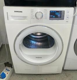 SAMSUNG 8kg heat pump dryer £250 like new