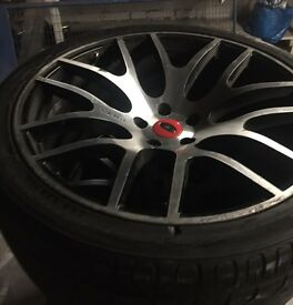 "22"" onyx alloy wheels"