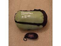 Ridgeline Convertible Junior Sleeping Bag with Sprayway Liner