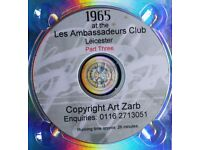 1965 CELEBRITY & SPECIALITY NIGHTS at the Les Ambassadeurs Club Leicester DVD. Part Three.