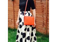 Zara red and orange bag in perfect conditions