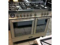 Baumatic BCD925iv Dual Fuel Double Oven Range Cooker with Warranty