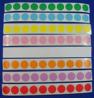 800 Multi Color Self-adhesive Price Labels 34 Stickers Tags Retail Supplies