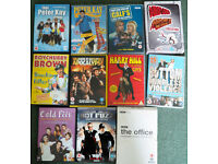 13 Comedy DVDs Airplane, Peter Kay, harry Hill, League Gentlemen etc