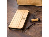 iPhone 6s / 6 Reveal Luxury Natural Handcrafted Nara Bamboo Wood Folio Phone Case - BRAND NEW SEALED