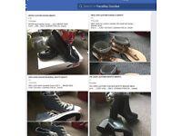 """BNWT LEATHER FOOTWEAR """"""""""""great bargains"""""""""""""""