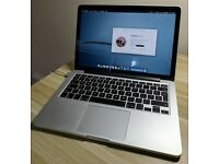 "Apple MacBook Pro Retina 13"" 2.6GHz i5 8GB RAM 512GB SSD Late 2013"