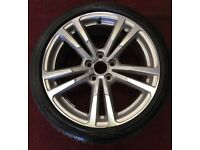 AUDI A3 SALOON 18 INCH S LINE ALLOY WITH TYRE.