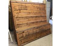 🌻 Pressure Treated Brown Wayneylap Wooden Garden Fence Panels