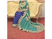 Lengha wedding dress