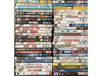 DVD collection of 50 various comedy films