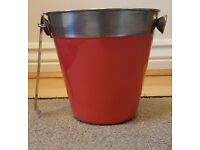 Ice Bucket with Tong BRAND NEW