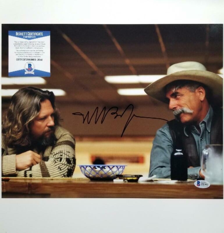 Jeff Bridges signed The Big Lebowski 11x14 Photo Autograph ~ Beckett BAS COA