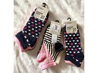 Ladies trainer socks