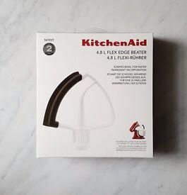 KitchenAid tilt head Stand Mixer Flex Edge Beater