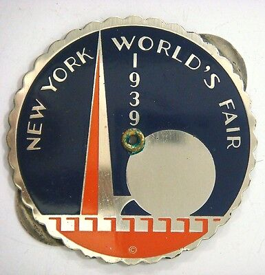 Perpetual Calendar - New York World's Fair 1939  (1938 to 1955)