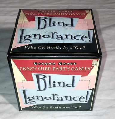 blind ignorance mystery crazy cube party game