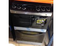 ***NEW Zanussi 55cm wide gas double oven cooker for SALE with 1 year warranty***