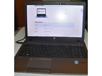 "Laptop: HP ProBook 450 G1, 15.6"" display Intel i7, 8GB RAM, 750GB HD"
