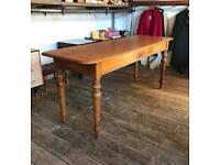 19th Century Large Oak Table