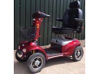 Shoprider Cordobra large full suspension 8mph mobility scooter