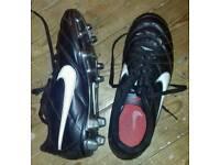 Boys football boots size 6