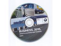 BMW, AUDI, VW, MERCEDES, UK, EUROPE 2016 MAPS UPDATE DVD