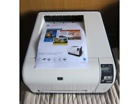 HP Laserjet CP1525nw WiFi Colour Laser Printer with toners - calls only