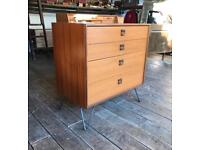 G-Plan Retro Chest Of Drawers On Hair Pin Legs