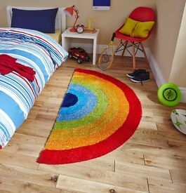Colourful Rainbow Rug