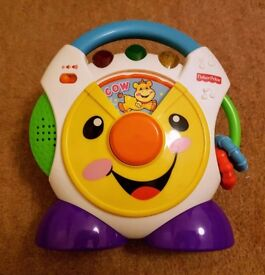 Fisher Price Laugh & Learn Nursery Rhymes Toy CD Player