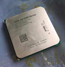 AMD A4-6300 APU - Fan included.