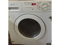 Neff german new model fully integrated built in washer dryer for sale timer display