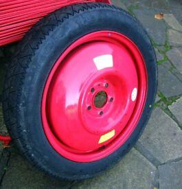 Peugeot 407 spare wheel