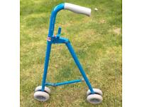 Walking Stick on Wheels with Bag Holders