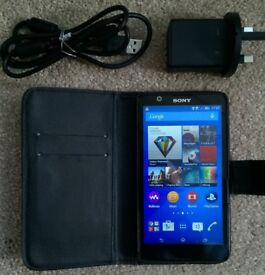 Sony Xperia SIM free smartphone + excellent condition with charger