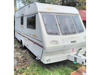 Lovely 1998 Lunar 2 berth full-size Dorema Awning ( collection from Devon )