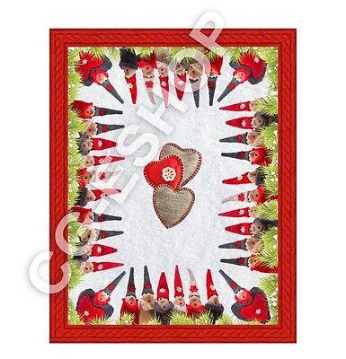 Plaid Digitaldruck Ideal Geschenk Weihnachten Elfen