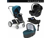 Joie pram and car seat travel system