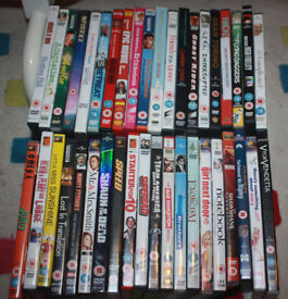 Assorted DVDs 15+ ~ Shawshank Redemption, Shaun of The Dead, House of Flying Daggers, and more